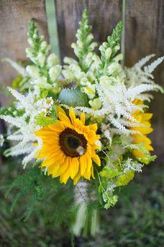 bouquet sunflower